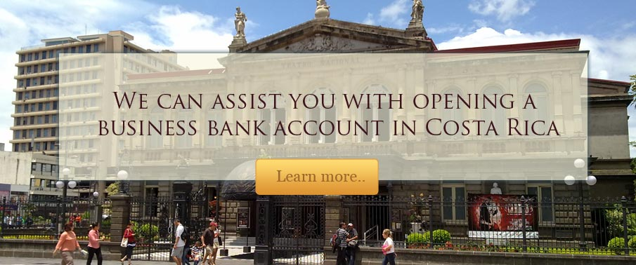 Bank Accounts - Costa Rica